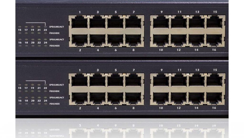 交换机划分VLAN